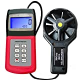 Air Wind Speed Anemometer Multi Function Thermo Meter with Vane