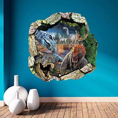 3D Wall Sticker Surper® 3D Dinosaur Wall Stickers Art Decals Mural Wallpaper Decor Home Room DIY Decoration