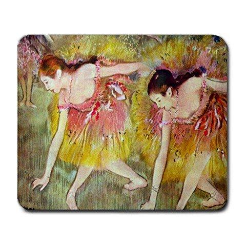 Ballet Dancers By Edgar Degas Mouse Pad
