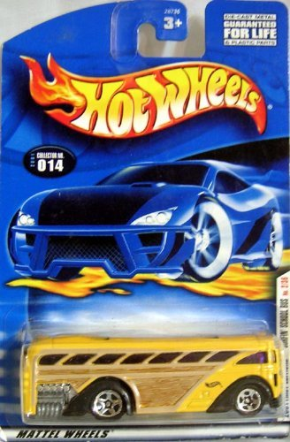 HOT WHEELS 2001 FIRST EDITIONS SURFIN' SCHOOL BUS
