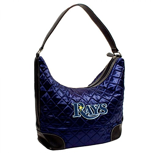 TAMPA BAY RAYS MLB QUILTED HOBO (NAVY)