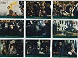 The Hobbit An Unexpected Journey Complete Lonely Mountain Chase Card Set P01-P18