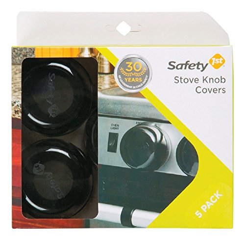 Safety 1st Stove Knob Safety Covers Tinted Plastic. 5 in a pack, 6 Packs (Stove Knobs 5 compare prices)