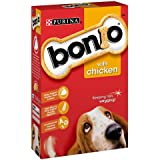 Bonio Chicken Dog Biscuits 650g (Pack of 5)