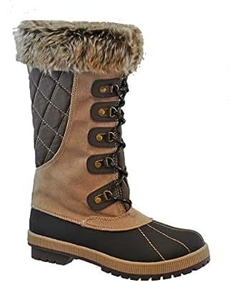Totes Women's Zelus Snow Boot, TAN, 11 | Amazon.com