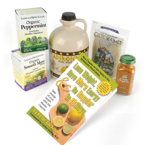 Master Cleanse 10-Day Organic Kit with Free MC book