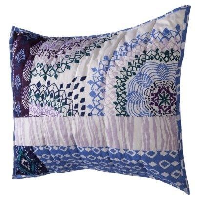 "Xhilaration 20"" X 26"" Standard Full/Queen Quilted Pillow Sham (Patchwork Purple) front-262227"