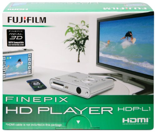 Fujifilm HD Player, HDP-L1 Plays HD/3D Pictures and Movies on TV