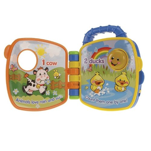 FISHER PRICE LAUGH & LEARN COUNTING ANIMAL FRIENDS BOOK - 1