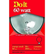GE Private Label17879Do it Decorative Globe Bulb-60W CLR 3-1/8GLOBE BULB