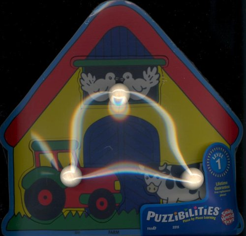 Picture of Small World Toys Level 1 Puzzibilities: Farm (B000MBACBE) (Pegged Puzzles)