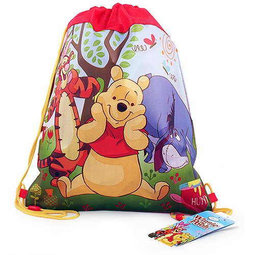 Winnie the Pooh Non-Woven Sling Bag [2-Pack]