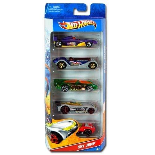 5pk Mattel Hot Wheel Sky Jump - 1
