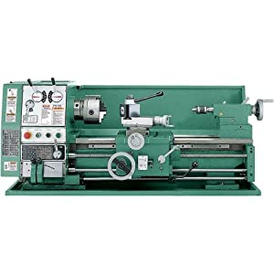 Grizzly G4002 Gear Head Lock Spindle Gap Bed Lathe, 12 x 24-Inch