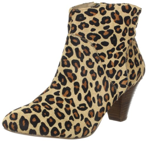 Steve Madden Women's Proccess Ankle Boot,Leopard,5 M US