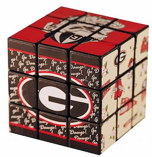 NCAA Georgia Bulldogs Toy Puzzle Cube - 1