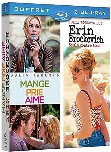 Mange, prie, aime + Erin Brockovich [Blu-ray]