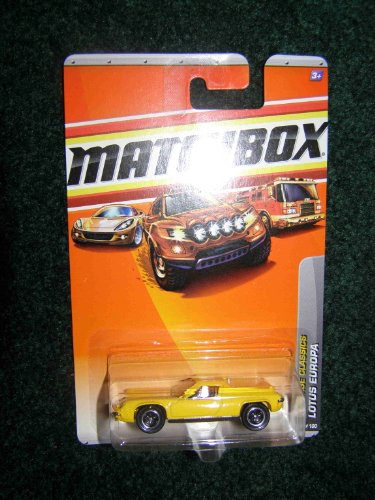 2010 MATCHBOX HERITAGE CLASSICS 21 OF 100 YELLOW LOTUS EUROPA by Matchbox - 1