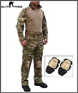 Homme uniforme de combat militaire airsoft chasse Gen3 uniforme tactique MultiCam MC
