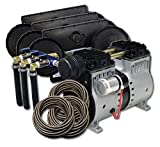 EasyPro PA66 Rocking Piston Pond Aeration System 1/2 HP Kit with Tubing