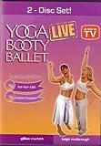 Yoga Booty Ballet Live 2 DVD set: Hip Hop Abs & Cardio Cabaret