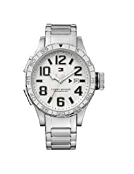 Tommy Hilfiger Analog White Dial Men's Watch - TH1790692/D
