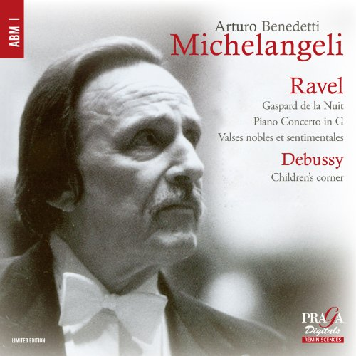 ミケランジェリ名演集 ~ ラヴェル、ドビュッシー (Ravel : Gaspard de la Nuit, Piano Concerto in G, Valses nobles et sentimentales | Debussy : Children's corner / Arturo Benedetti Michelangeli) [SACD Hybrid] [輸入盤]