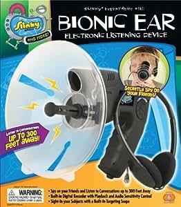 POOF-Slinky 016000BL Slinky Science Bionic Ear Electronic Listening Device by Slinky Science TOY (English Manual)