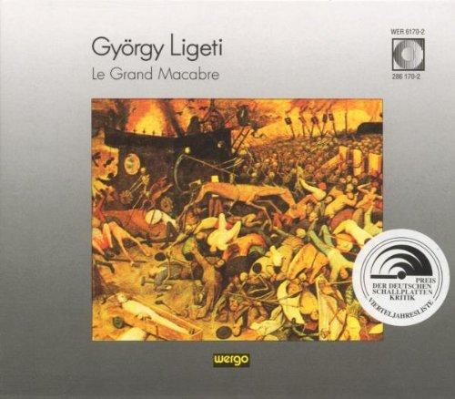 Le Grand Macabre - György Ligeti - CD