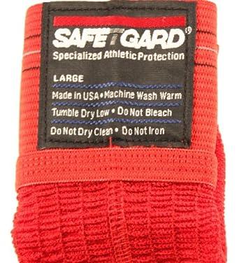 Safe-T-Gard Jock Strap Athletic Supporter - Red by Safe-T-Gard