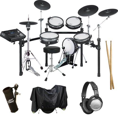 Roland Td-30Kv V-Drums Drum Essentials Bundle With Extra Hardware