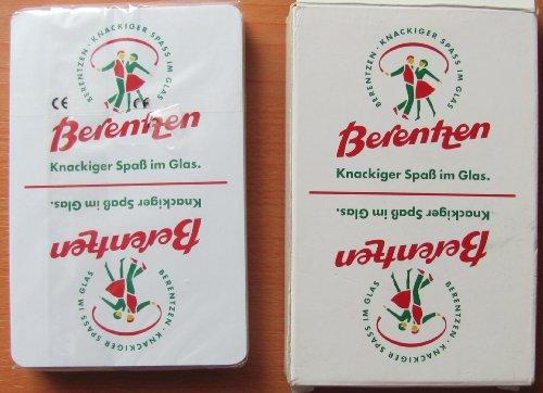 Berentzen - Skatspiel (Auslese) - franz. Blatt - Neu
