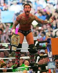 Amazon.com - CM Punk - WWE WrestleMania XXVIII 8x10 Glossy Photo