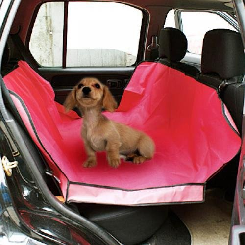 Red Cradle Dog Car Seat Cover Pet Mat Blanket front-167739