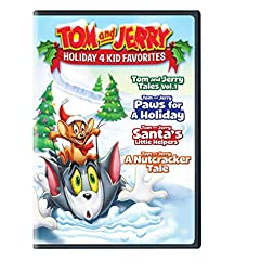 Tom and Jerry Holiday 4 Kid Favorites