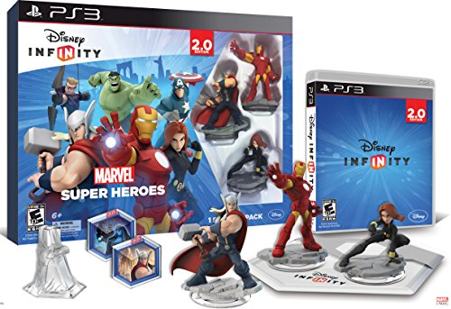 Disney Infinity: Marvel Super Heroes (2.0 Edition) Video Game Starter Pack - Ps3 front-989638