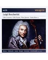Luigi Boccherini : Concertos pour violoncelle - Sonatas pour violoncelle - Quintettes avec flûte