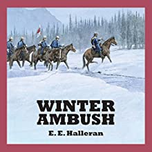 Winter Ambush Audiobook by E. E. Halleran Narrated by Jeff Harding