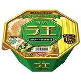 日清 ラ王 濃厚コク豚骨醤油 128g×12個