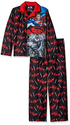 DC Comics Boys' Big Boys' Batman Vs Superman Sleepwear Coat Set at Gotham City Store