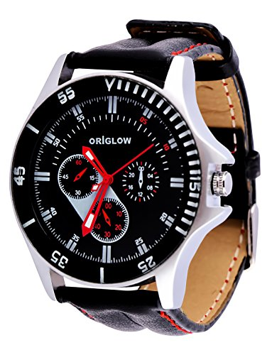 Origlow Smart Chronograph Look Black Dial Men's / Boy's Watch – M1