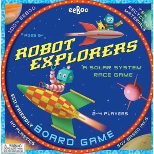 Robot Explorers Board Game