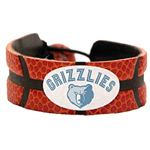 Memphis Grizzlies Classic Basketball Bracelet by GameWear