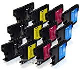 Brother DCP 385C x12 Compatible Ink Cartridges