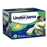 Pampers UnderJams Boys (S/M)Big Pack 46 Count (Packaging May Vary)