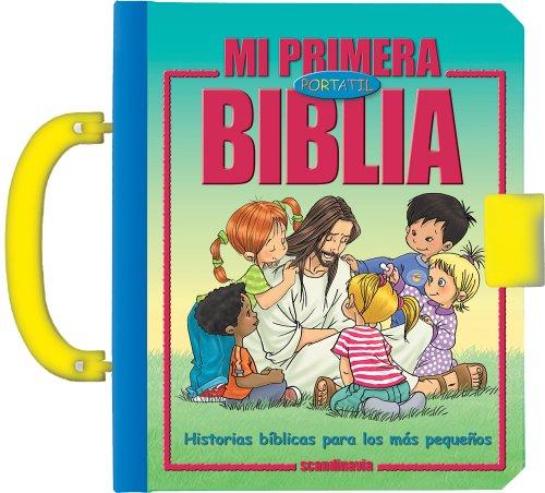 Mi primera Biblia port til: Historia b blica // My First Handy Bible (Spanish Edition)