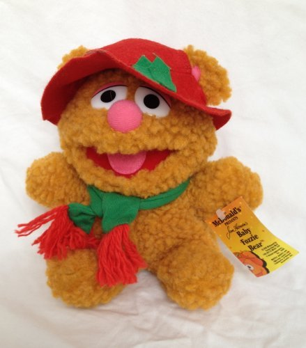 "McDonalds Presents ""Baby Fozzie Bear"" Vintage Plush Toy - 1"