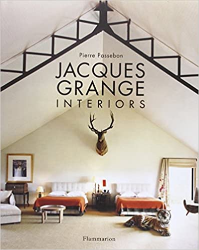 Jacques Grange Interiors Pierre Passebon