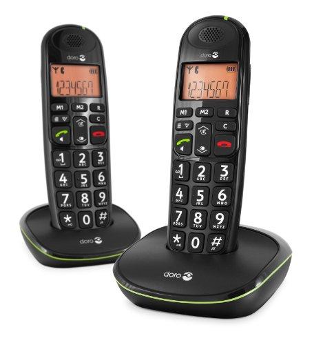 Doro Phone Easy 100W Duo Téléphone fixe sans-fil