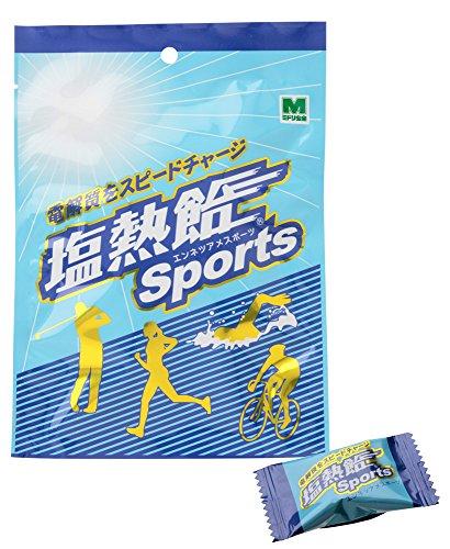 ミドリ安全 塩熱飴Sports 80g (約15粒)